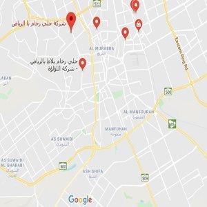 خريطة الرياض كاملة Kharita Blog